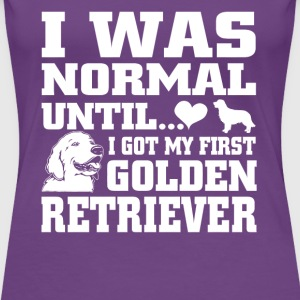 Golden Retriever - Women's Premium T-Shirt