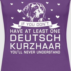 Deutsch Kurzhaar - Women's Premium T-Shirt