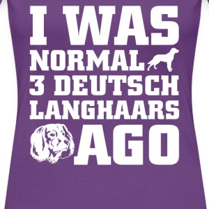 Deutsch Langhaars - Women's Premium T-Shirt
