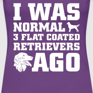 Flat Coated Retrievers - Women's Premium T-Shirt