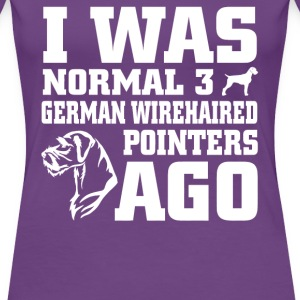 German wirehaired Pointers - Women's Premium T-Shirt