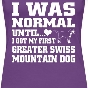 Greater Swiss Mountain Dog - Women's Premium T-Shirt