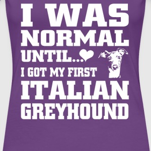 Italian Greyhound - Women's Premium T-Shirt