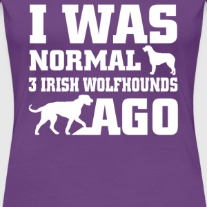 Irish Wolfhounds - Women's Premium T-Shirt