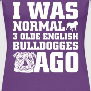 Olde English Bulldogges - Women's Premium T-Shirt