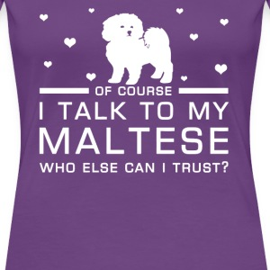 Maltese - Women's Premium T-Shirt
