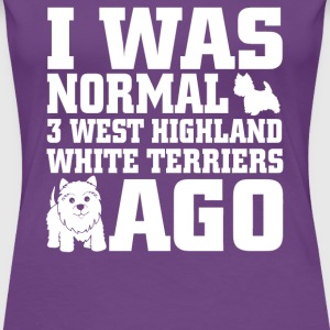 West Highland White Terriers - Women's Premium T-Shirt