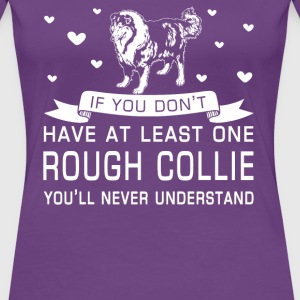 Rough Collie - Women's Premium T-Shirt