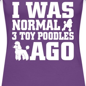 Toy Poodles - Women's Premium T-Shirt