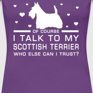 Scottish Terrier - Women's Premium T-Shirt