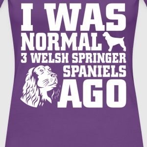 Welsh Springer Spaniels - Women's Premium T-Shirt