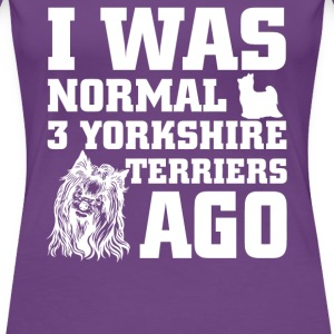 Yorkshire Terriers - Women's Premium T-Shirt