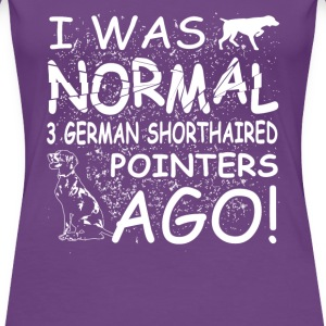 German Shorthaired Pointers - Women's Premium T-Shirt
