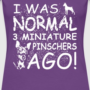Miniature Pinschers - Women's Premium T-Shirt
