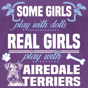 Airedale Terriers - Women's Premium T-Shirt