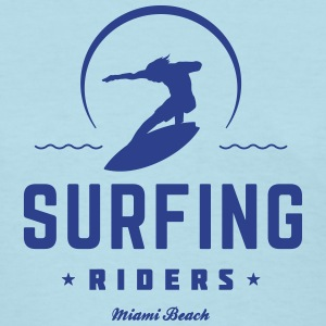 Surfing riders - Women's T-Shirt