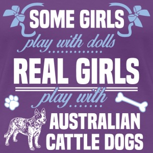 Australian Cattle Dogs - Women's Premium T-Shirt