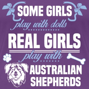 Australian Shepherds - Women's Premium T-Shirt