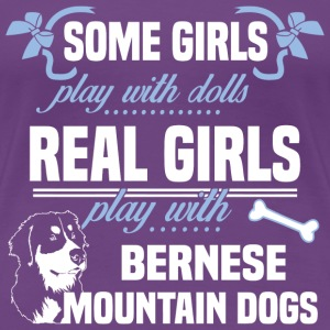Bernese Mountain Dogs - Women's Premium T-Shirt