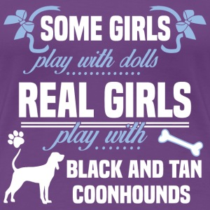 Black and Tan Coonhounds - Women's Premium T-Shirt