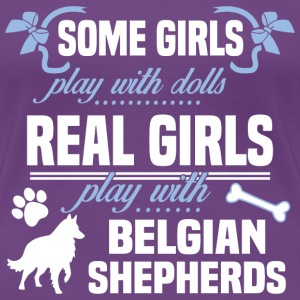 Belgian Shepherds - Women's Premium T-Shirt