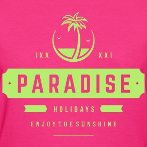 paradise holidays - Women's T-Shirt