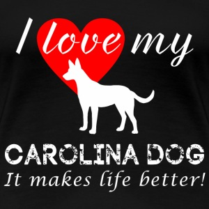 Carolina Dog - Women's Premium T-Shirt