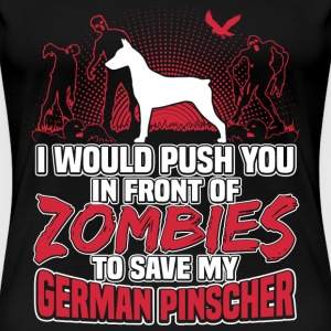 German Pinscher - Women's Premium T-Shirt