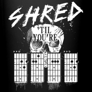 Shred 'til you're dead Mugs & Drinkware - Full Color Mug