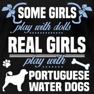 Portuguese Water Dogs - Women's Premium T-Shirt