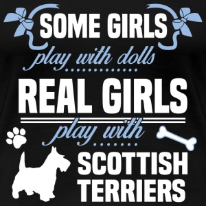 Scottish Terriers - Women's Premium T-Shirt