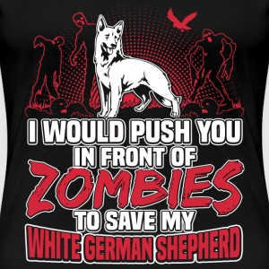 White German Shepherd - Women's Premium T-Shirt