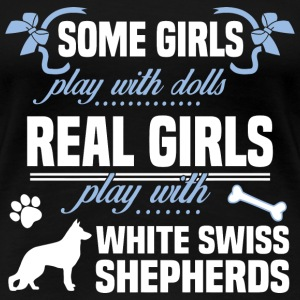 White Swiss Shepherds - Women's Premium T-Shirt