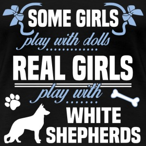 White Shepherds - Women's Premium T-Shirt