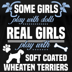 Soft Coated Wheaten Terriers - Women's Premium T-Shirt