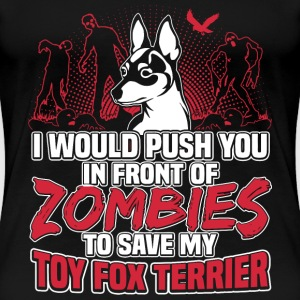 Toy Fox Terrier - Women's Premium T-Shirt