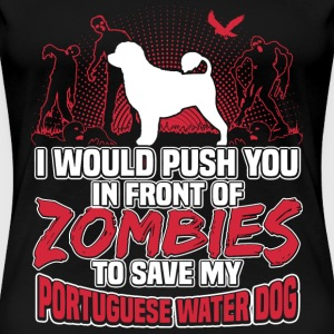 Portuguese Water Dog - Women's Premium T-Shirt