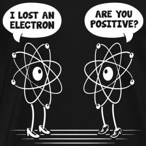 I lost and electron - Men's Premium T-Shirt
