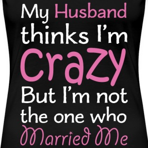 Husband - Women's Premium T-Shirt