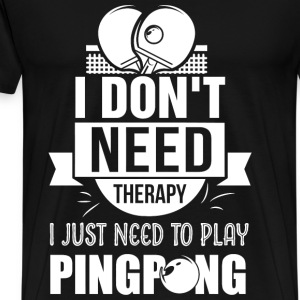 Pingpong - Men's Premium T-Shirt