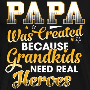 Papa Grandpa - Men's Premium T-Shirt