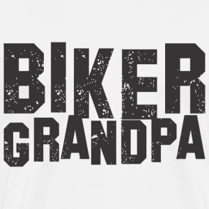 Biker Grandpa - Men's Premium T-Shirt