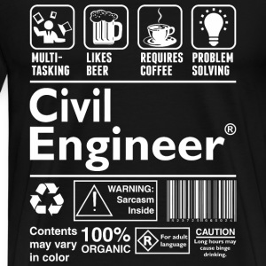 Civil Engineer - Men's Premium T-Shirt