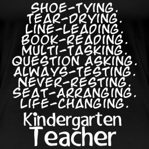 Kindergarten Teacher - Women's Premium T-Shirt