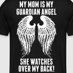 My Mom Is My Guardian Angel She Watches Over My - Men's Premium T-Shirt