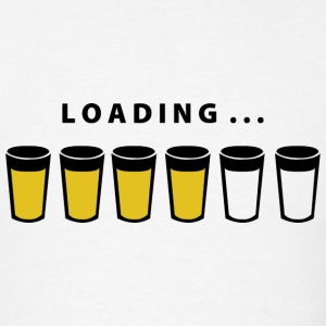 Beer Loading - Men's T-Shirt