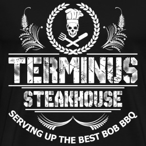 Terminus Steakhouse Serving Up The Best Bob Bbq - Men's Premium T-Shirt