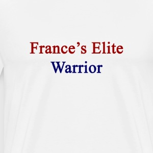 frances_elite_warrior T-Shirts - Men's Premium T-Shirt