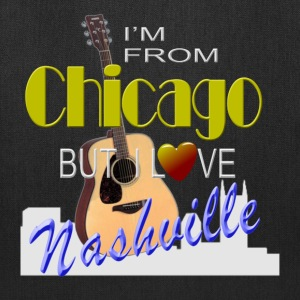 Love Nashville from Chicago Tote Bags - Tote Bag