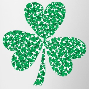 Multiple-Shamrocks-In-a-Shamrock.png Mugs & Drinkware - Coffee/Tea Mug